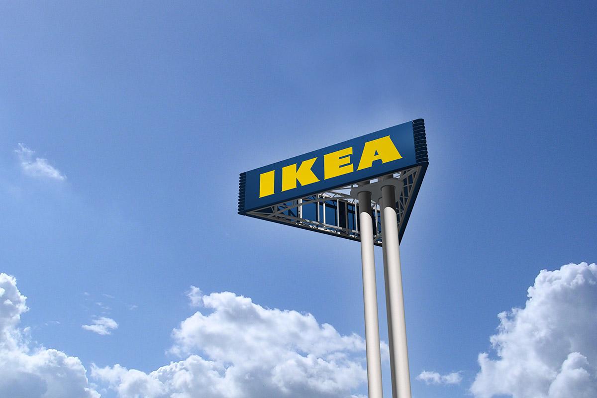 Ikea Sign Tower Sichtbarkeitsstudie Werft 6 All